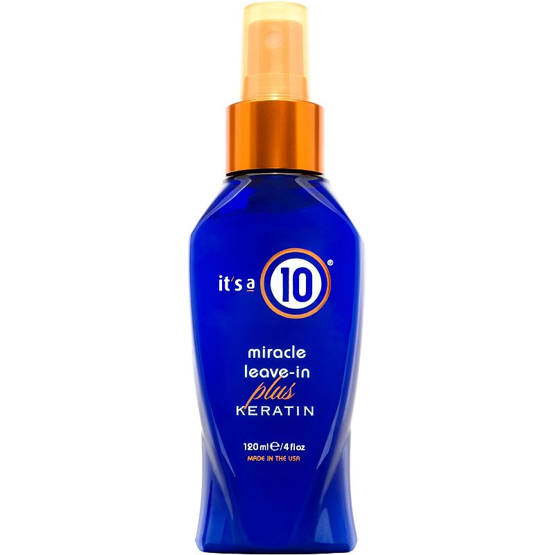 It's 10 Miracle Leave-In Plus Keratin